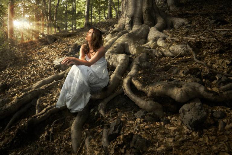 woman tree of dreams